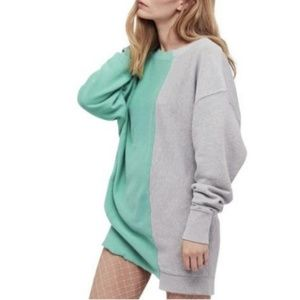 NEW! $125 Free People Coloring In Pullover Sweater